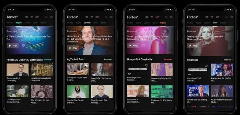 Forbes8 - Forbes lanza sus propio Netflix para emprendedores | Reddeperiodistas.com