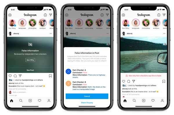 Facebook bloqueará bulos también en Instagram