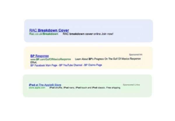 Así era la publicidad en Google en 2007   ReddePeriodistas.com