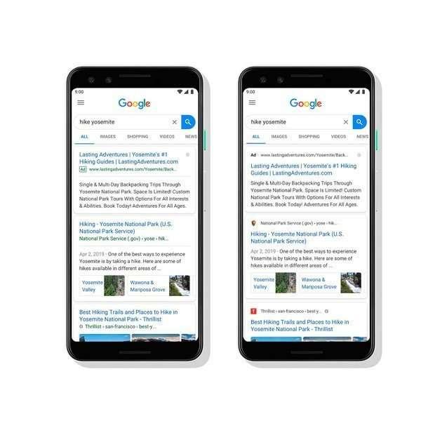 Google resideña sus resultados de búsqueda   ReddePeriodistas.com