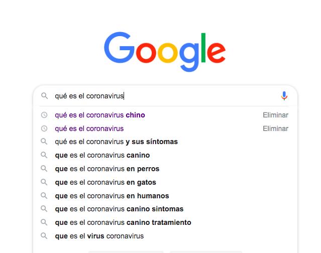 El País coloca una noticia sobre el coronavirus como fragmento destacado