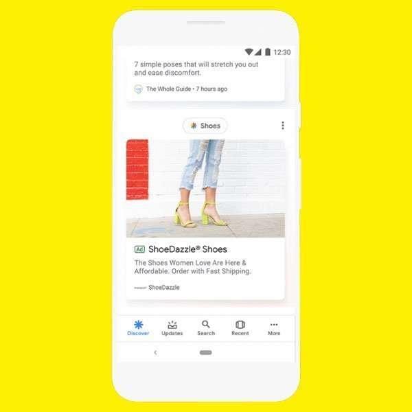 La publicidad llega a Google Discover