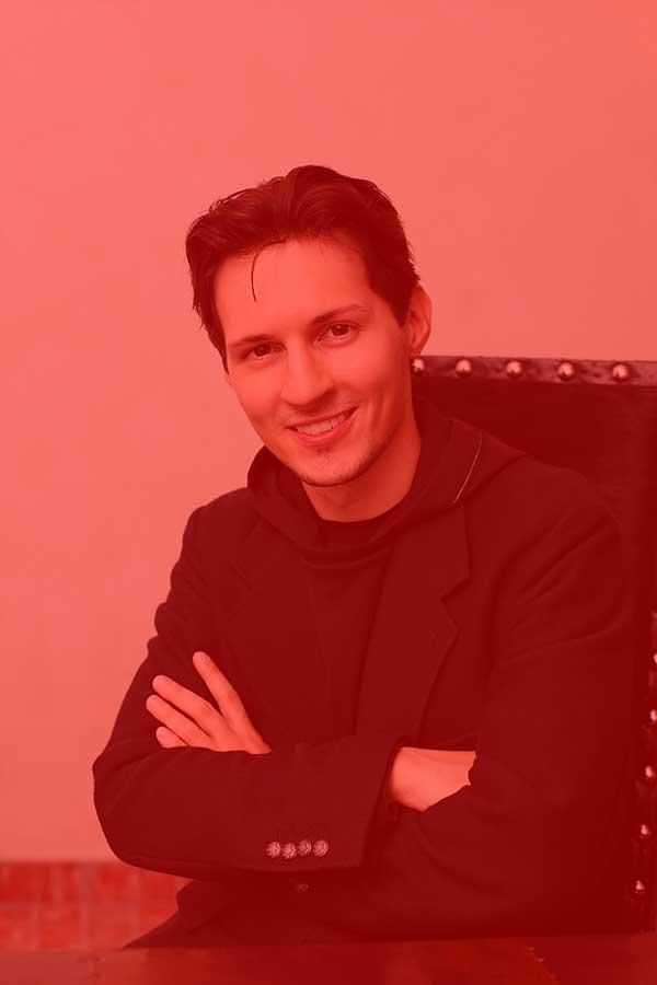 Pável Dúrov, fundador de Telegram