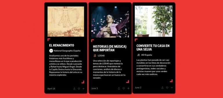 Flipboard Storyboard llega a España