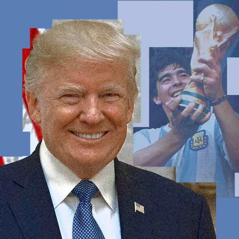 La audiencia de Google de Trump a Maradona