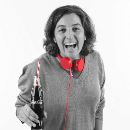 Nuria Gimenez Coca Cola
