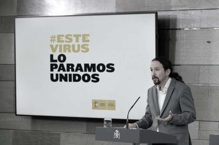 La CEOE quiere nacionalizar la publicidad Pablo Iglesias en Moncloa