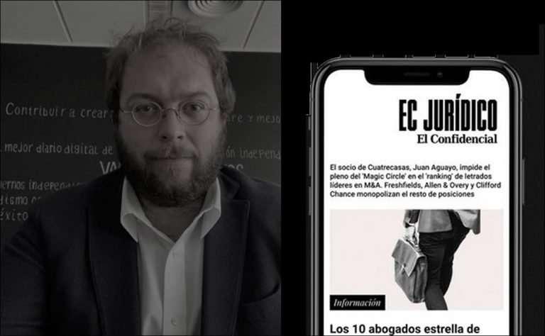 Mikel Roig EL CONFIDENCIAL lanza EC Jurídico